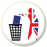Keep Britain Tidy Brexit Flag 58mm Keyring